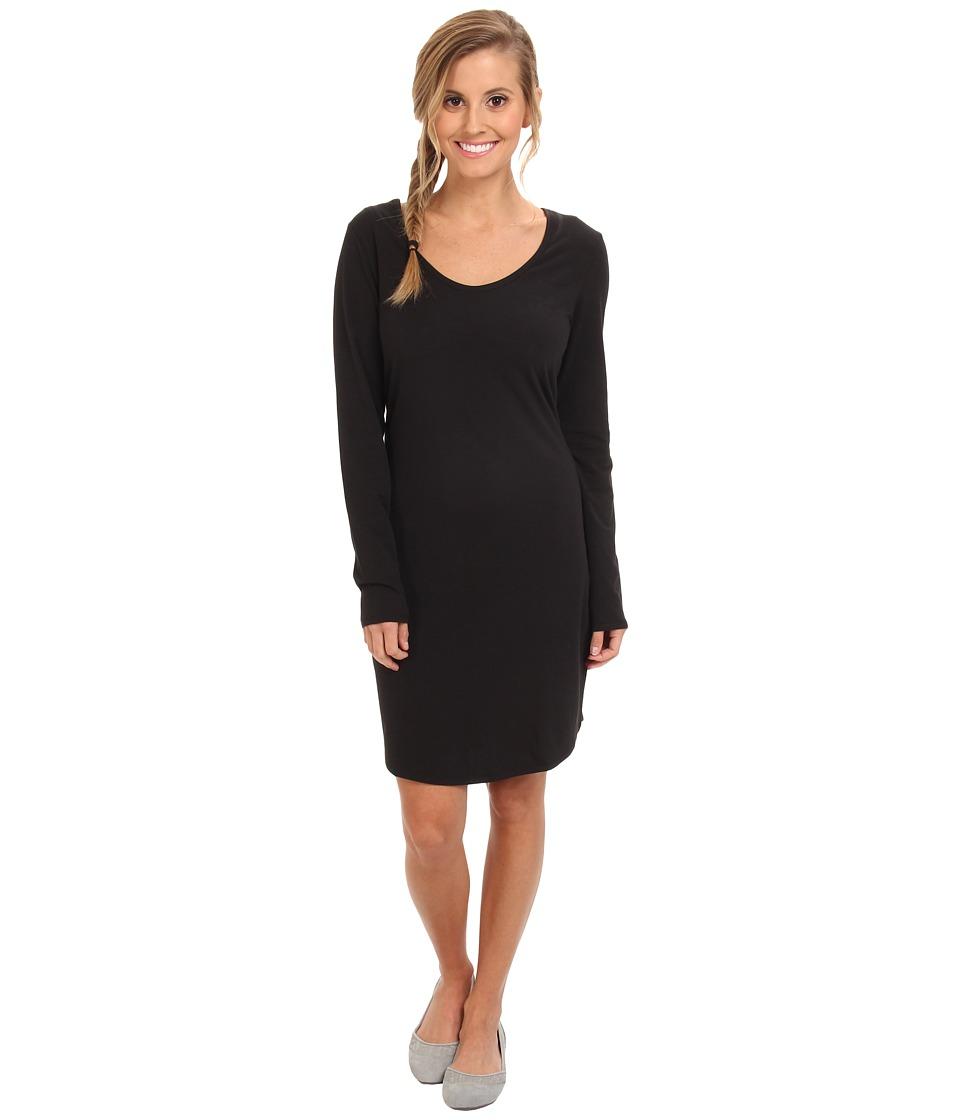 Lole - Lorella 2 L/S Dress (Black) Women