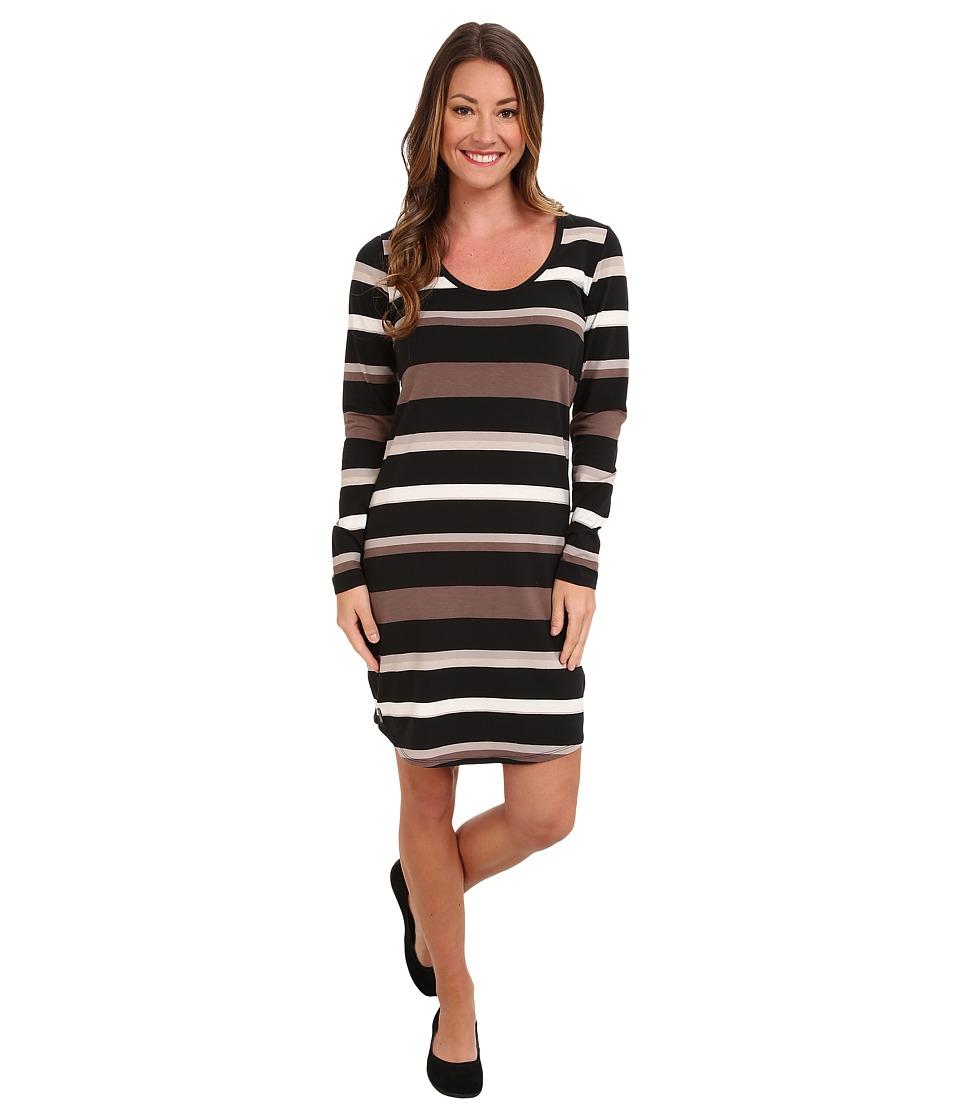 Lole - Lorella 2 L/S Dress (Black Multi) Women
