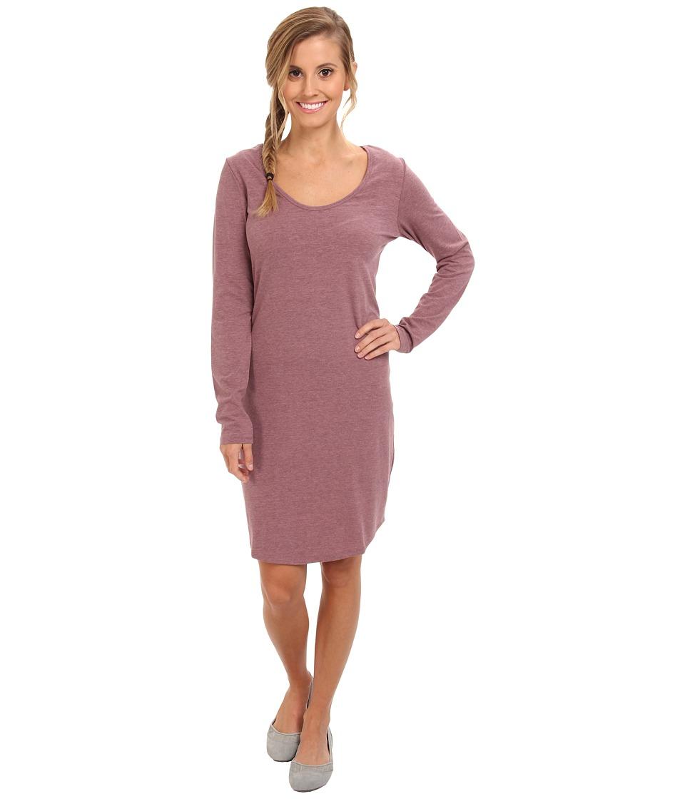 Lole - Lorella 2 L/S Dress (Zinfandel Heather) Women