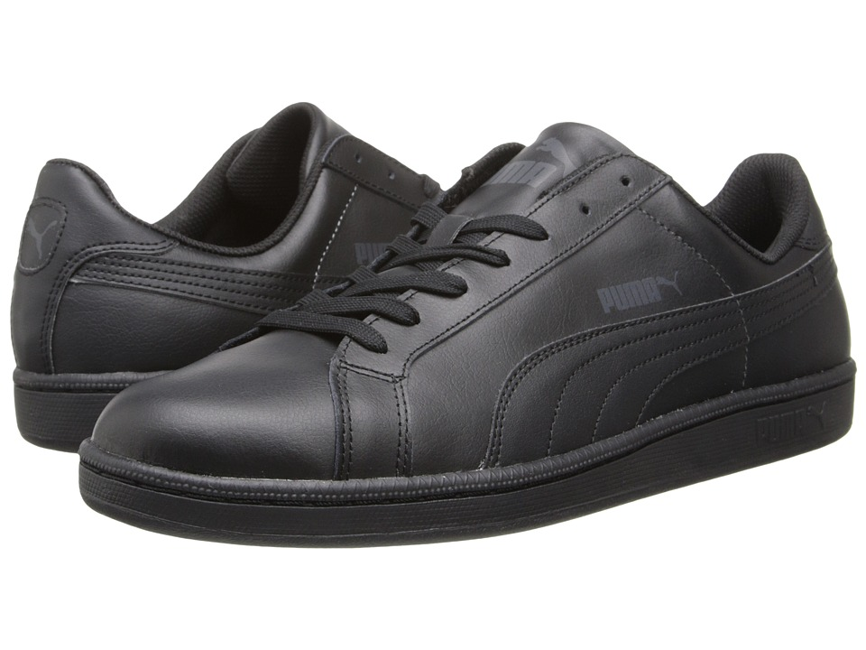 PUMA - Smash L (Black/Dark Shadow) Shoes