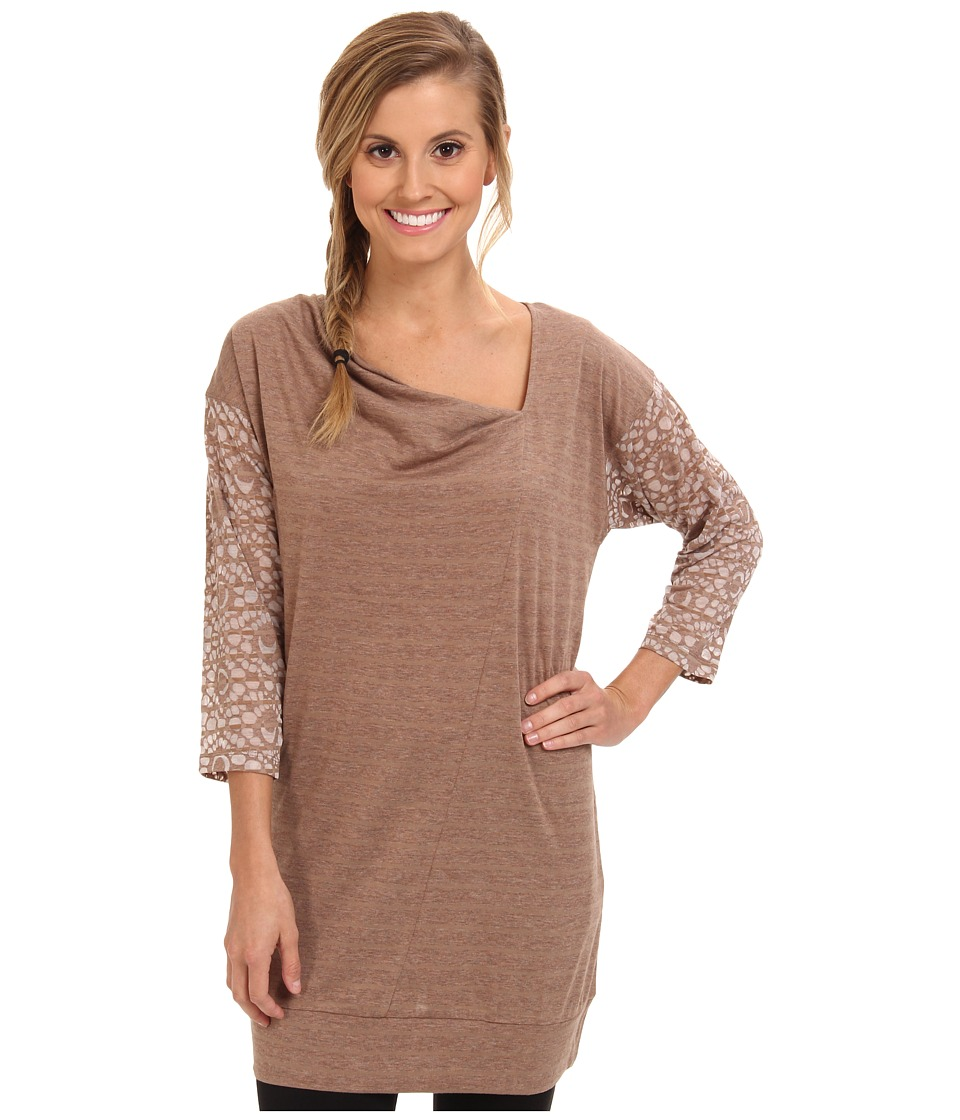 Lole Hedia 3/4 Sleeve Tunic (Chanterell H Gem Stripe) Women