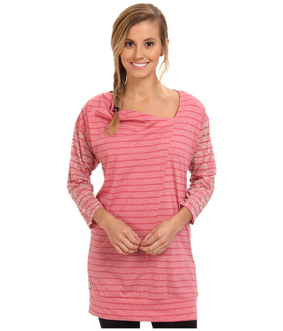 Lole - Hedia 3/4 Sleeve Tunic (Bouquet H Gem Stripe) Women's T Shirt