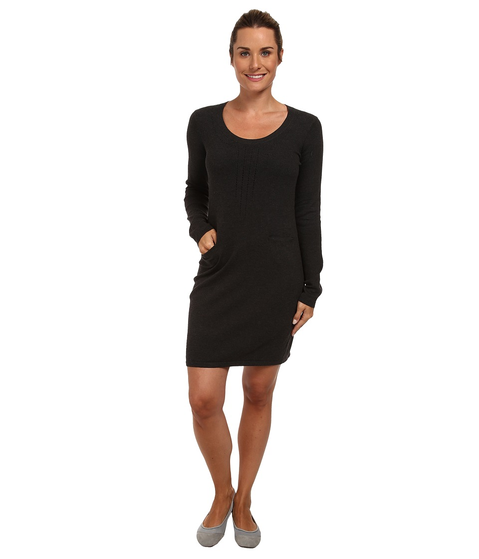 Lole Imagine 2 L/S Dress (Dark Charcoal Heather) Women
