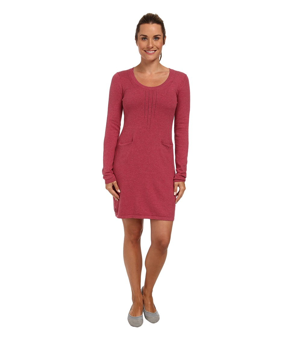 Lole - Imagine 2 L/S Dress (Beaujolais Heather) Women's Dress