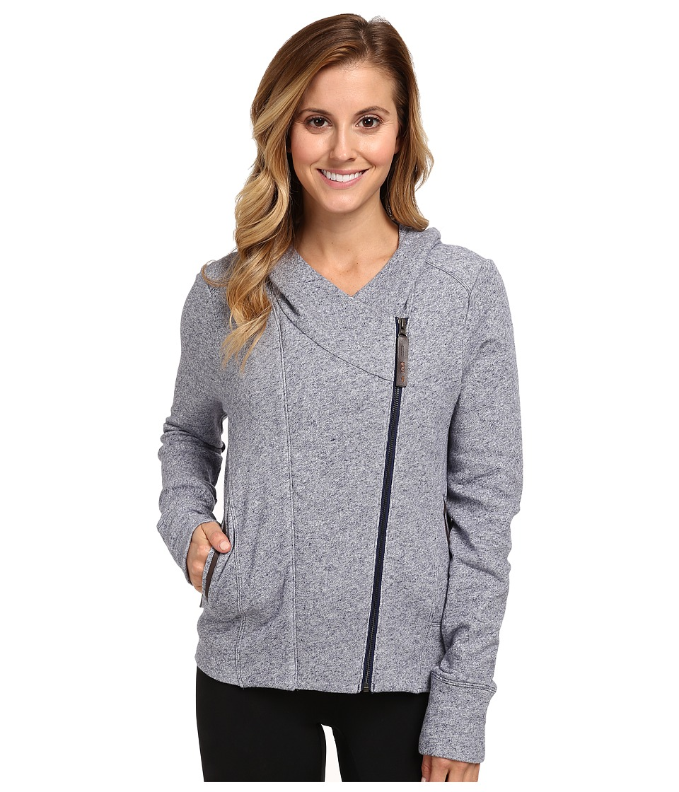 Lole - Carey Full Zip Cardigan (North Sea Mix) Women's Sweater
