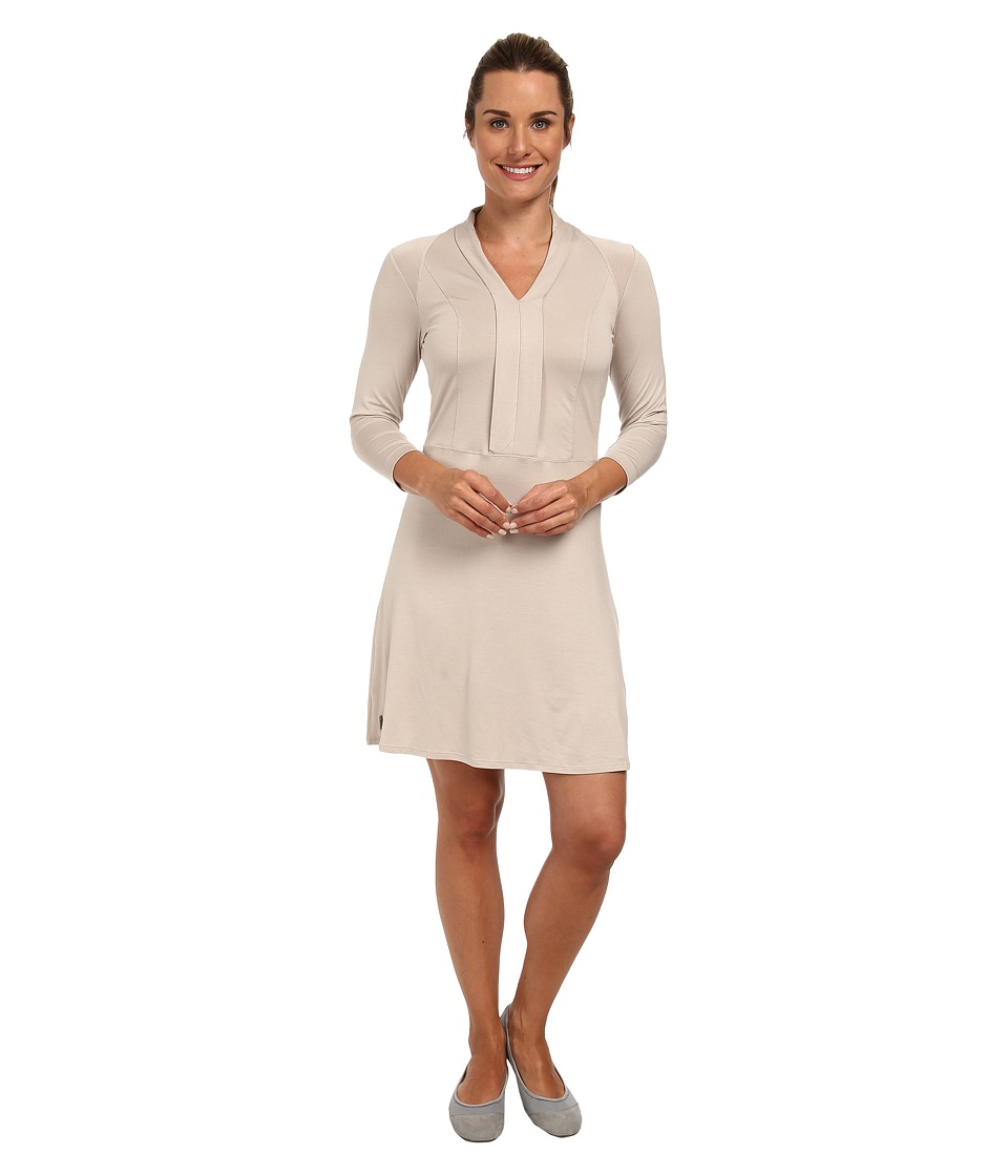 Lole - Erin Three-Quarter Sleeve Dress (Silver Cloud) Women's Dress