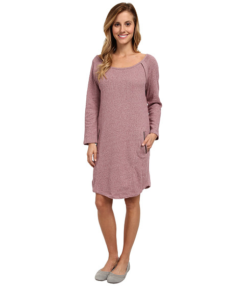 Lole - Calm 2 Long Sleeve Dress (Beaujolais Mix) Women