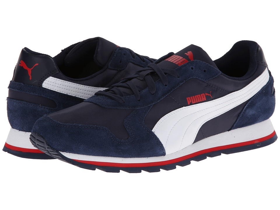 PUMA - ST Runner Nylon (Peacoat/White) Running Shoes