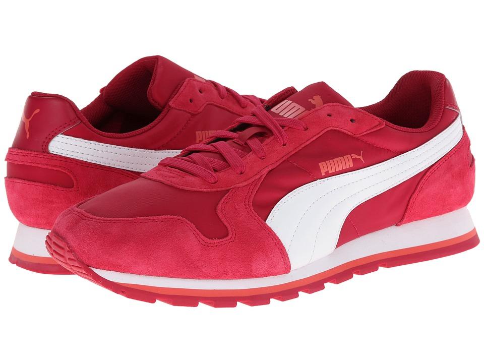 PUMA - ST Runner Nylon (Cerise/White) Running Shoes