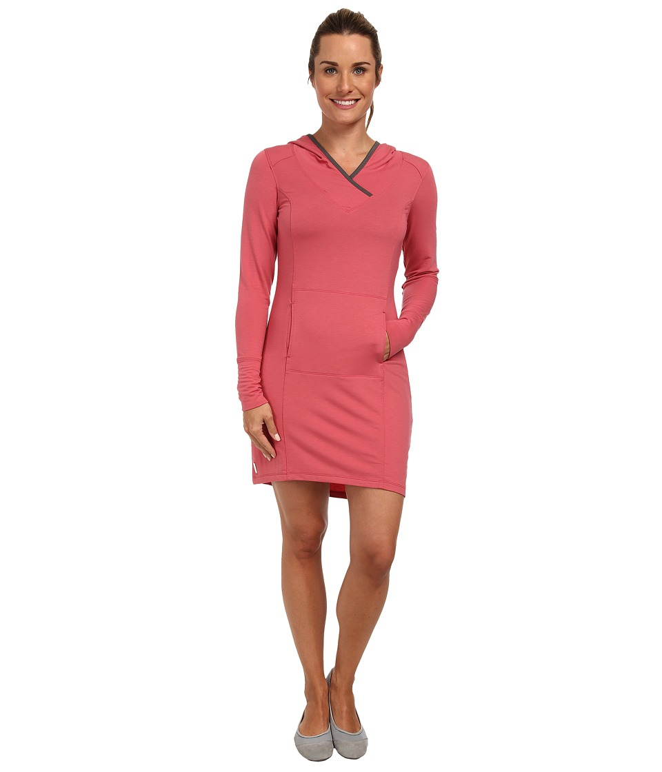 Lole - Easy Long Sleeve Dress w/ Hood (Bouquet) Women