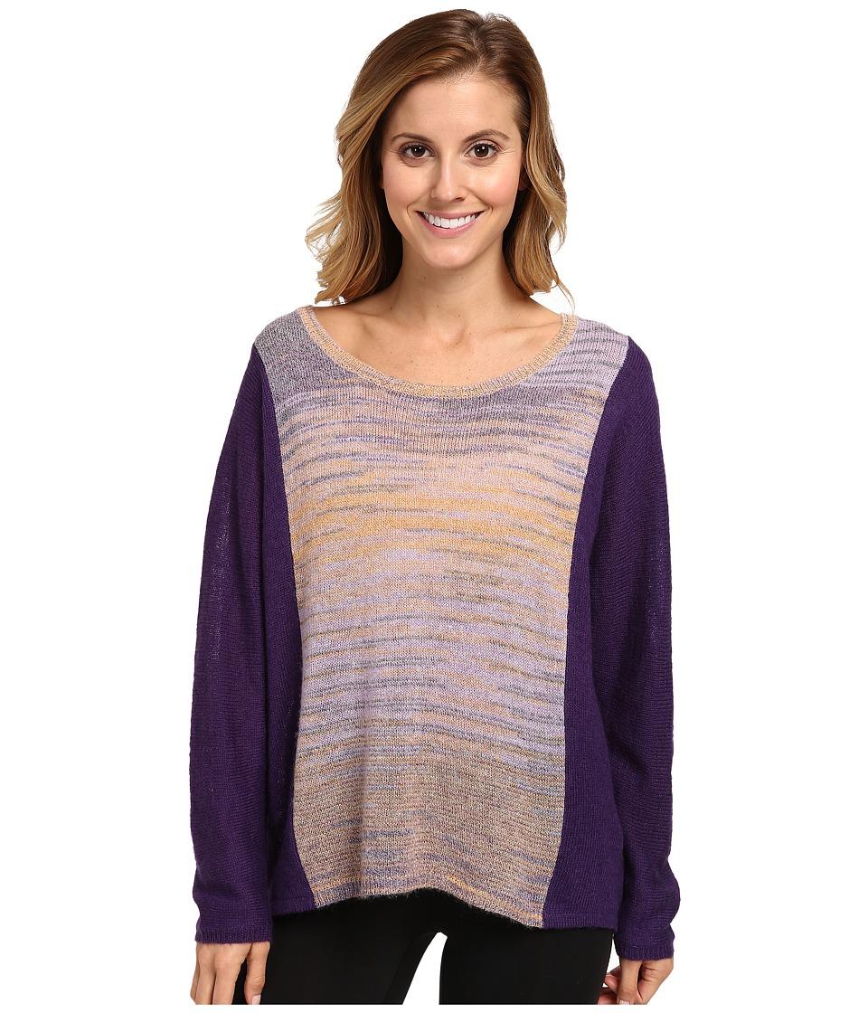 Lole - Star Long Dolman Sleeve Sweater (Purple Silk) Women's Sweater
