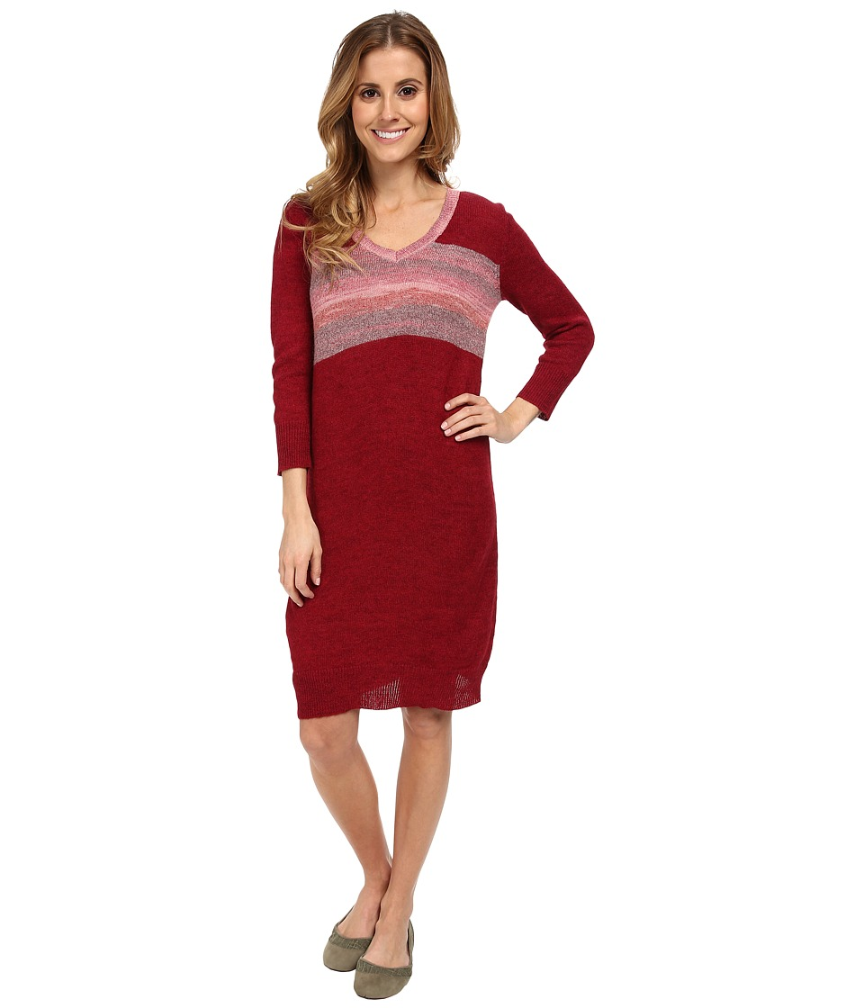 Lole - Skylar Three-Quarter Sleeve Dress (Red Sea) Women's Dress