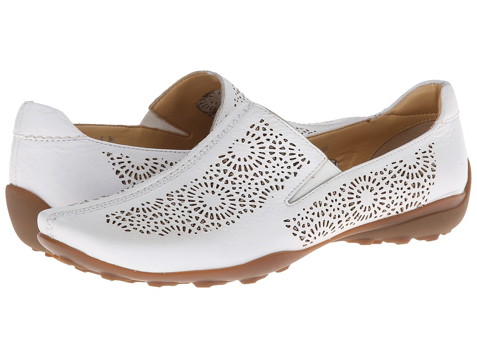 Sesto Meucci - Uriana (White Maxi Calf) Women's Slip on Shoes