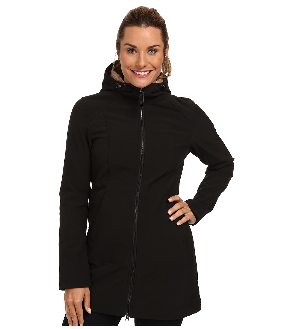 Lole - Muna Front Zip Jacket (Black) Women's Coat