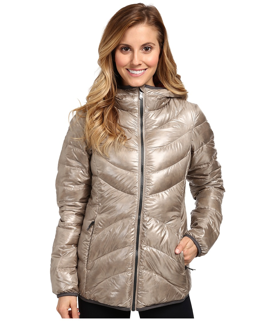 Lole - Elena 3 Quilted Jacket (River Mist) Women's Coat