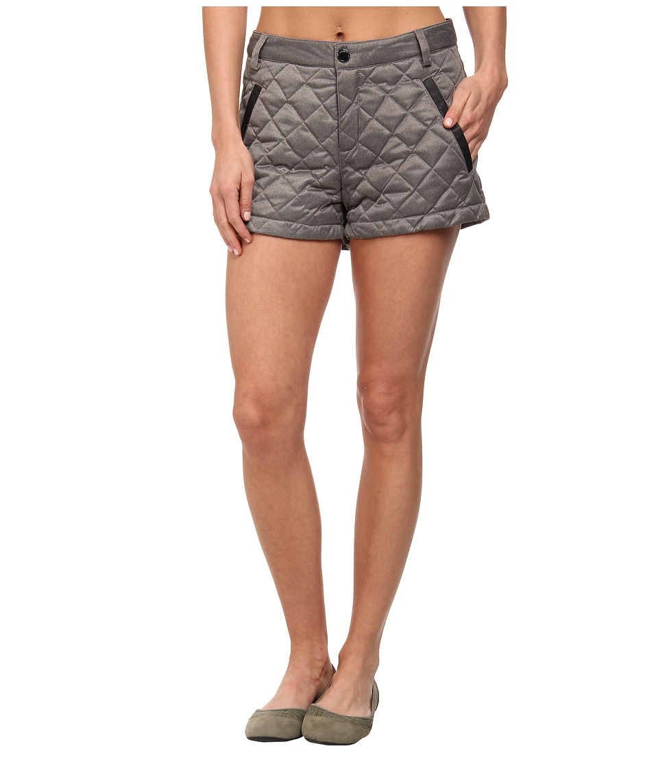 Lole - Joe Quilted Short (Dark Charcoal) Women's Shorts