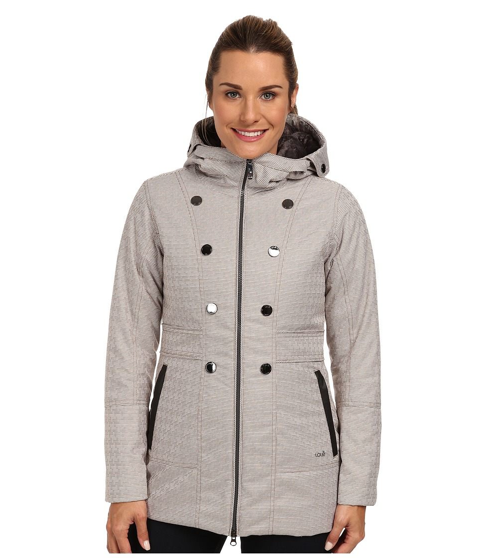 Lole - Masella 2 Zip Jacket (Iron Houndstooth) Women