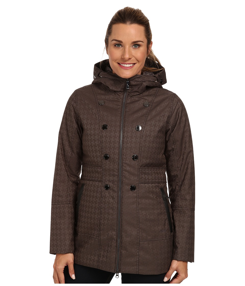 Lole - Masella 2 Zip Jacket (Black Houndstooth) Women's Coat