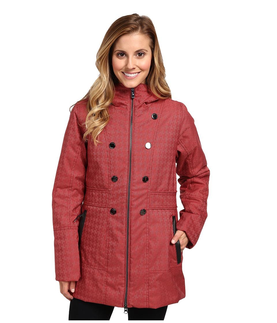 Lole - Masella 2 Zip Jacket (Zinfandel Houndstooth) Women