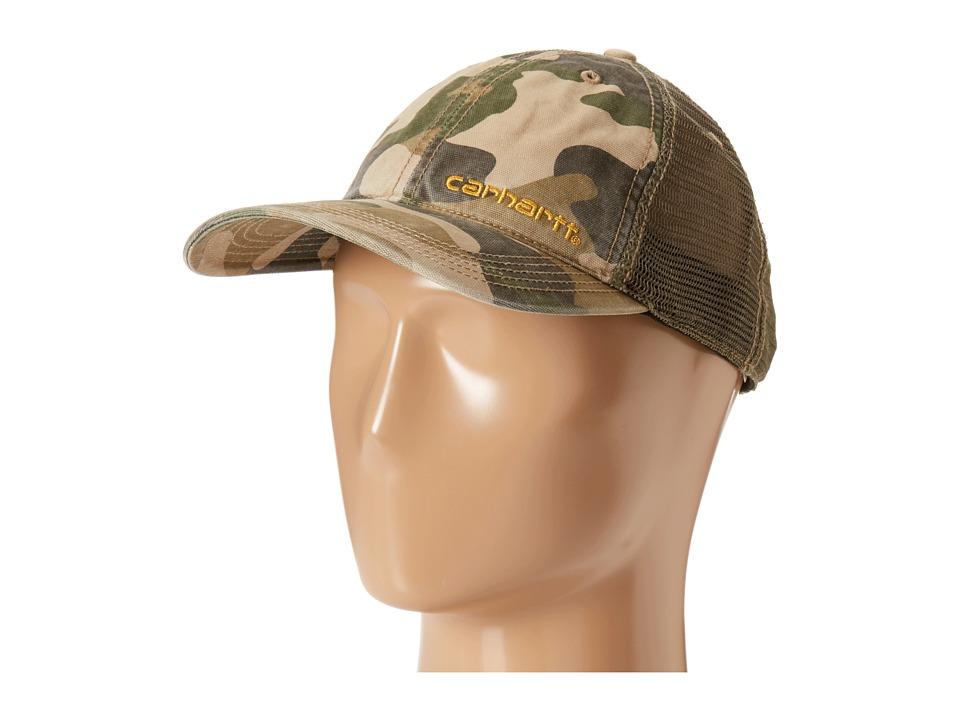 Carhartt - Brandt Cap (Rugged Khaki Camo) Caps