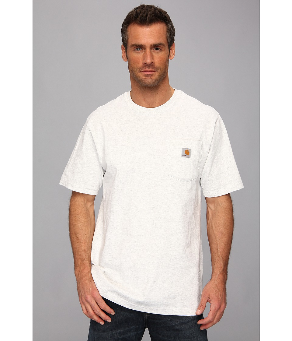 Carhartt - Workwear Pocket S/S Tee K87 (Ash) Men's T Shirt