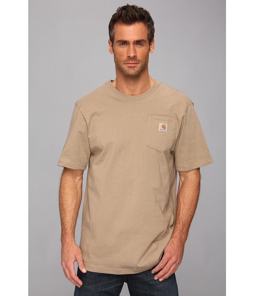 Carhartt - Workwear Pocket S/S Tee K87 (Desert) Men's T Shirt