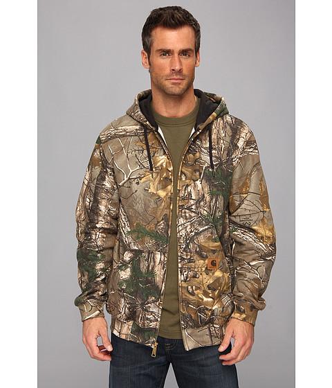 Carhartt - MW WorkCamo Hooded Zip Front Sweatshirt (Realtree Xtra) Men