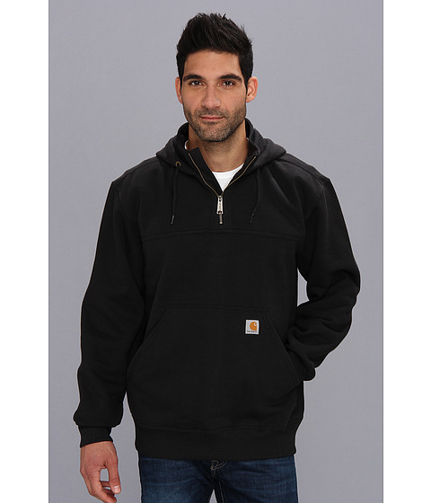 Carhartt - RD Paxton HW Hdd Zip Mock Sweatshirt (Black) Men's Sweatshirt