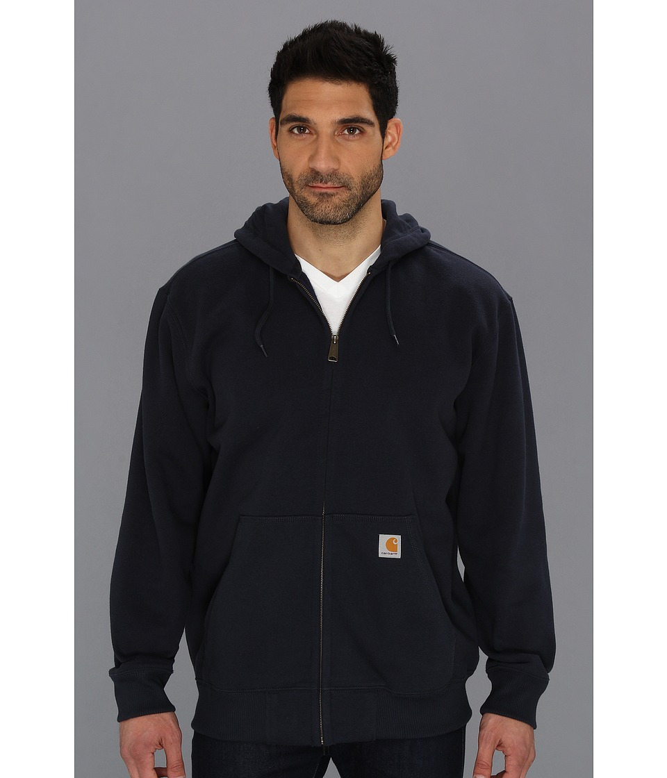 Carhartt - Rain Defender Paxton Heavy Weight Hooded Zip-Front Sweatshirt (New Navy) Men's Sweatshirt
