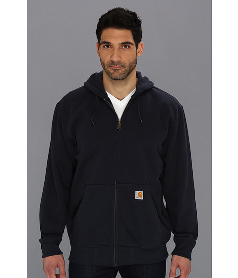 Carhartt - Rain Defender Paxton Heavy Weight Hooded Zip-Front Sweatshirt (New Navy) Men