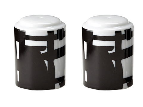 Lenox - DKNY by Lenox Urban Graffiti Stacking Salt Pepper (Black) Dinnerware Cookware