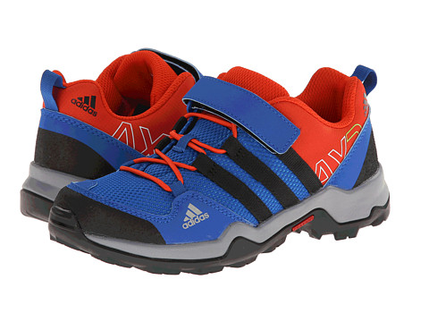 adidas Outdoor Kids - AX 2 CF K (Little Kid/Big Kid) (Blue Beauty/Black/Dark Orange) Boys Shoes