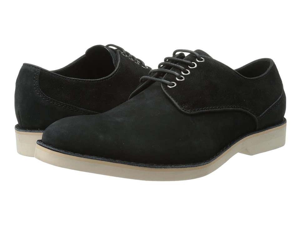 Bugatchi - Klee (Black) Men's Lace up casual Shoes