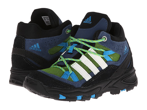 adidas Outdoor Kids - Flint II Mid I (Infant/Toddler) (Semi Solar Green/Rich Blue/Solar Blue) Boys Shoes