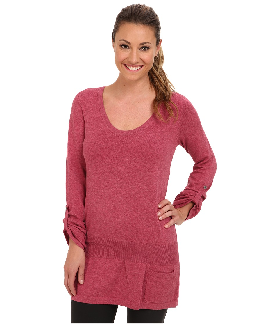 Lole - Imagine Tunic (Beaujolais Heather) Women's Long Sleeve Pullover