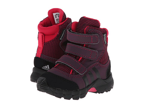 adidas Outdoor Kids - Holtanna Snow CF Primaloft (Infant/Toddler) (Tribe Berry /Black/Rich Red) Girls Shoes