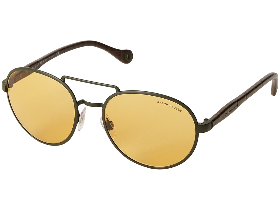 Polo Ralph Lauren - 0PH3081Q (Light Brown) Fashion Sunglasses