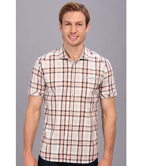 7 Diamonds - Electric Warrior S/S Shirt (Orange) Men