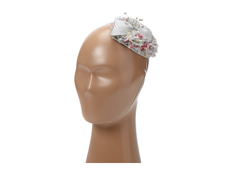San Diego Hat Company - CHA6388 Sequin Flower Topper (Grey) Traditional Hats