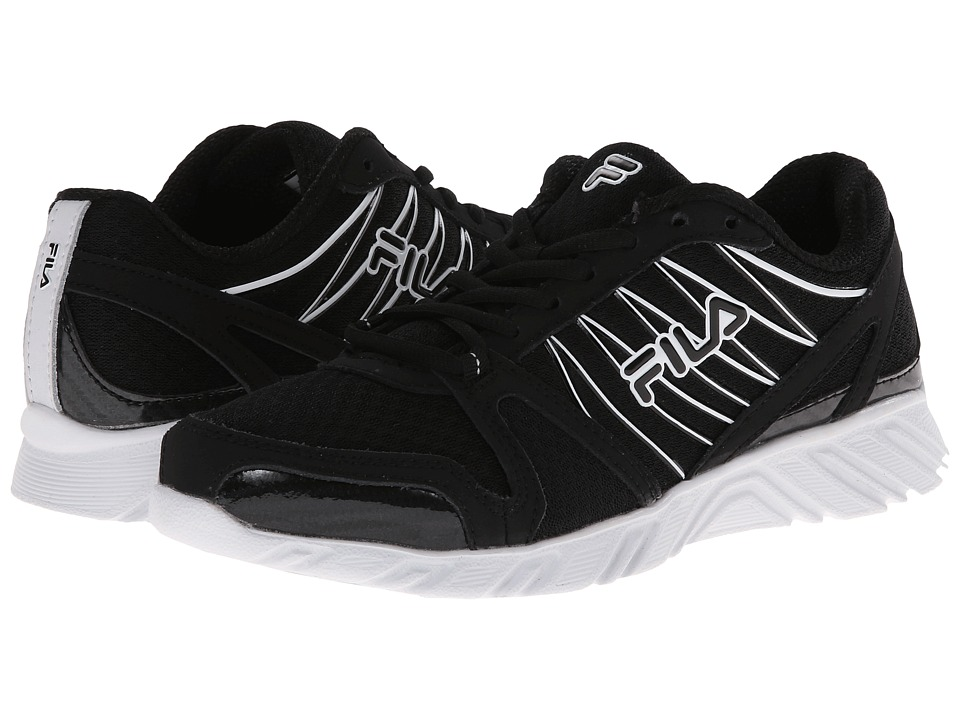 Fila - Spear 2 (Black/White) Women's Running Shoes