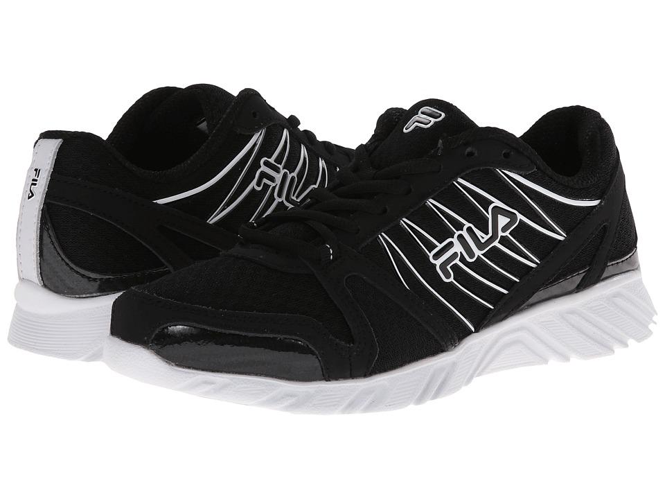 Fila - Spear 2 (Black/White) Women's Running Shoes