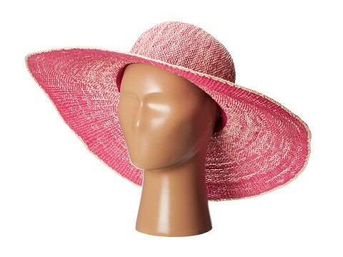 San Diego Hat Company - PBL3028 Ombre Paper Floppy (Paradise Pink) Traditional Hats