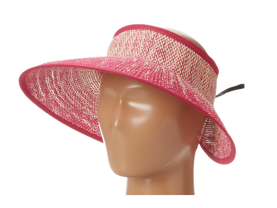San Diego Hat Company - PBV002 Ombre Paper Visor (Paradise Pink) Casual Visor