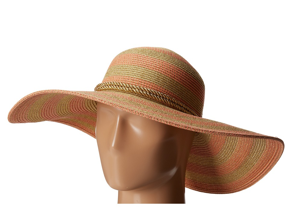 San Diego Hat Company - UBL6468 Lurex Ultra Braid Rope Floppy (Copper) Traditional Hats