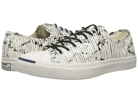 Converse - Jack Purcell Prints Jack (Egret) Lace up casual Shoes