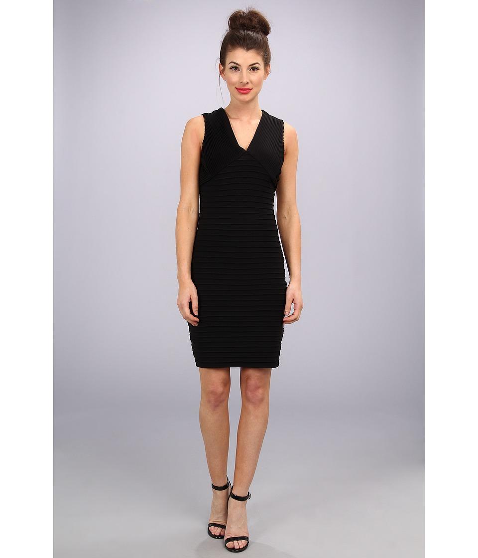 Calvin Klein - Banded Sexy MJ Dress (Black) Women