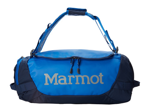 Marmot - Long Hauler Duffle Bag - Small (Peak Blue/Vintage Navy) Duffel Bags