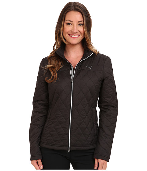 PUMA Golf - Stretch Filled Jacket (Black) Women's Jacket