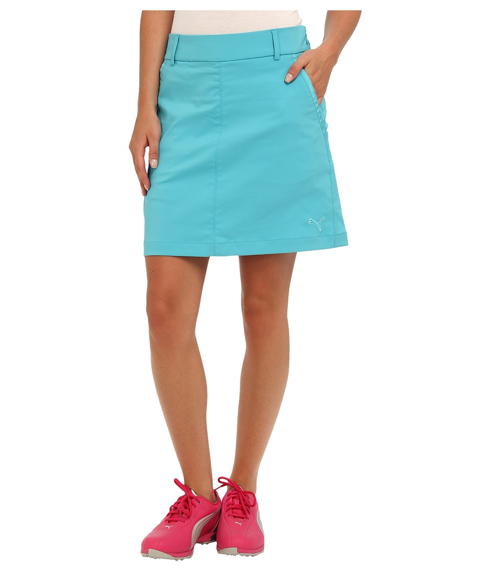 PUMA Golf - Solid Tech Golf Skort '14 (Scuba Blue) Women's Skort
