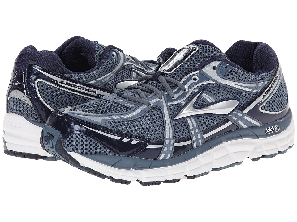 Brooks - Addiction 11 (Storm/Peacoat/Silver) Men's Running Shoes